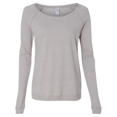 Women's Eco Mock Twist Locker Room Pullover Thumbnail